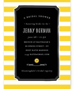 Lemonade Bridal Shower Invitations