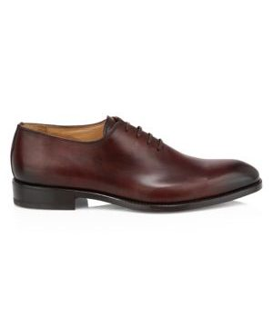 Lorenzo One-Piece Leather Balmoral Dress Shoes