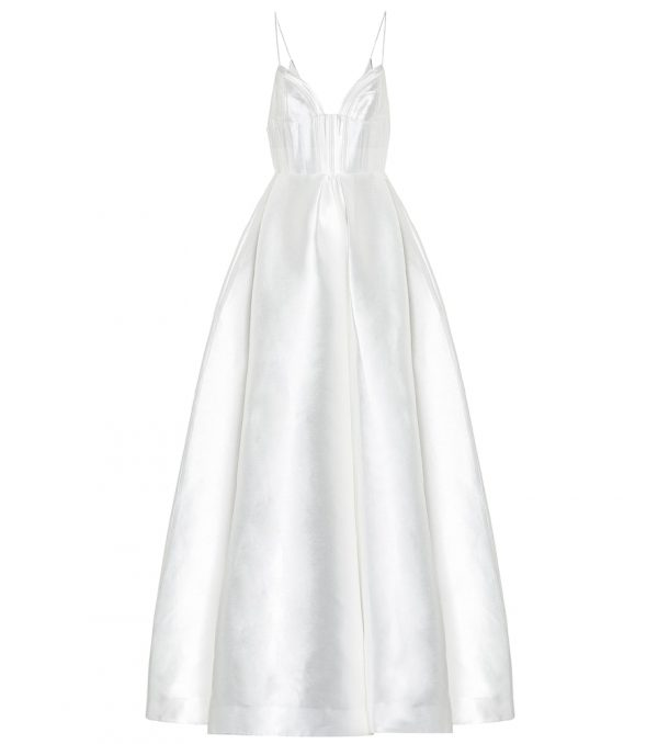 Maddison silk bridal gown