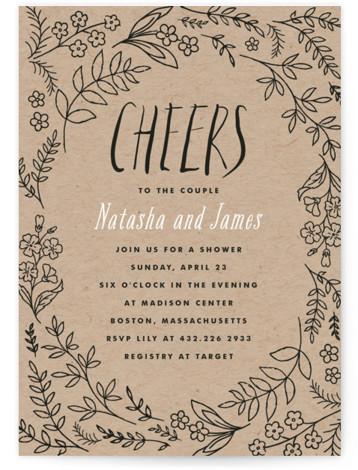 Madeleinne Bridal Shower Invitations