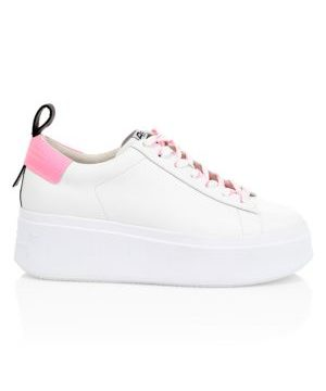 Moon Leather Platform Sneakers