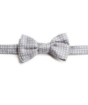 Neat Square Silk Bow Tie