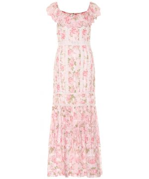 Niko floral cotton maxi dress