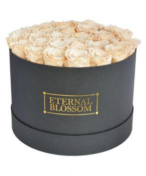One Year Roses Extra Large Round Box