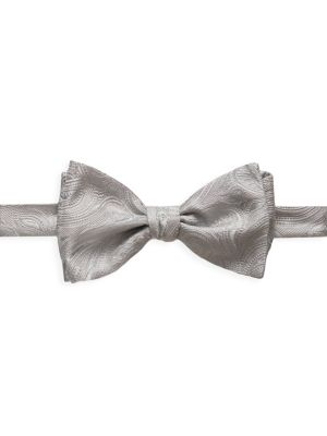Paisley Silk-Blend Bow Tie
