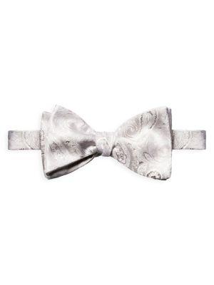 Paisley Silk Bow Tie
