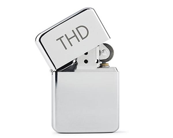 Personalized Classic Silver Lighter