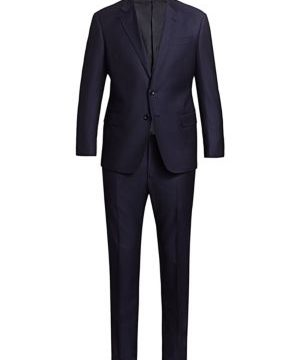 Pinstripe Virgin Wool Suit