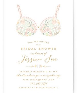 Pretties Bridal Shower Invitations