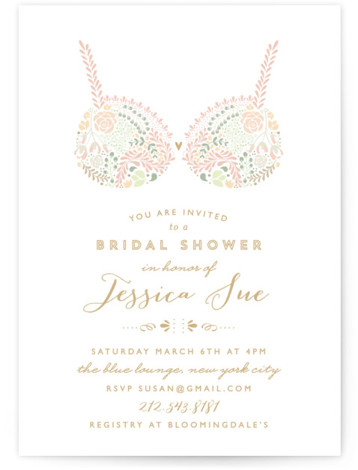Pretties Bridal Shower Invitations