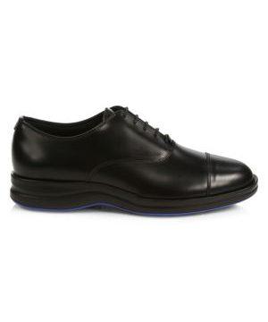 Profit Cap Toe Leather Dress Shoes