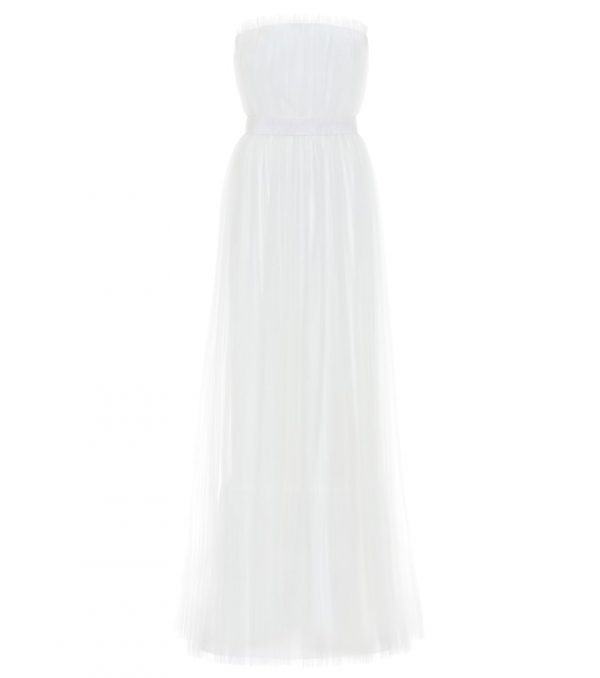 Regno strapless tulle bridal gown
