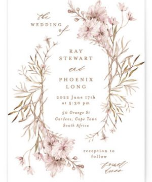 Ring Box Wedding Invitations