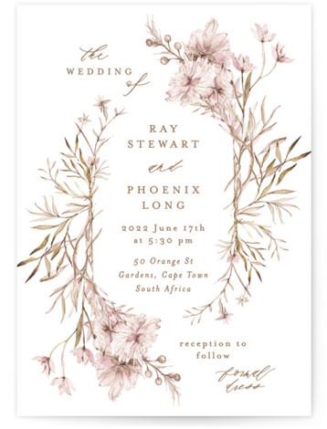 Ring Box Wedding Invitations