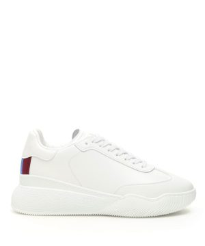 STELLA McCARTNEY LOOP SNEAKERS 35 White Faux leather