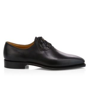 Single Cut Leather Dress Shoes
