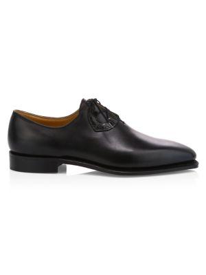 Single Cut Leather Dress Shoes
