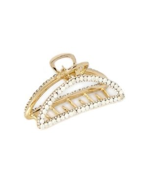 Soho Style Crystal Sparkle Half-Circle Hair Claw