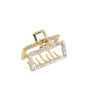Soho Style Crystal Sparkle Rectangular Hair Claw