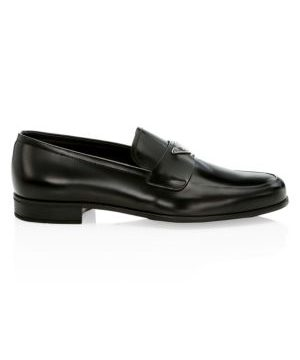 Spazzolato Fume Leather Dress Shoes