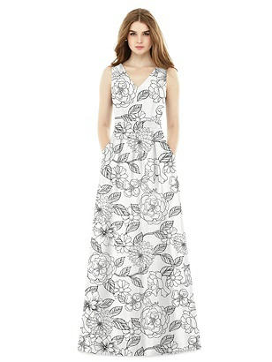 Special Order Alfred Sung Bridesmaid Dress D753FP