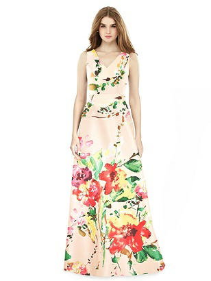 Special Order Alfred Sung Bridesmaid Dress D754FP