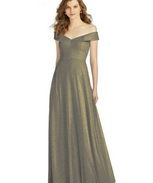 Special Order Bella Bridesmaid Shimmer Dress BB123LS