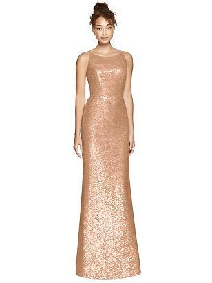 Special Order Dessy Bridesmaid Dress 3010