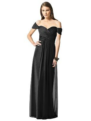 Special Order Dessy Shimmer Bridesmaid Dress 2844LS