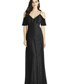 Special Order Dessy Shimmer Bridesmaid Dress 3020LS