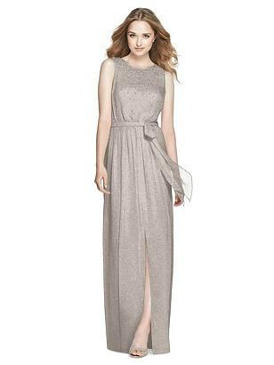 Special Order Dessy Shimmer Bridesmaid Dress 3025LS