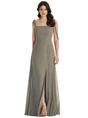 Special Order Dessy Shimmer Bridesmaid Dress 3042LS