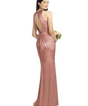 Special Order Sleeveless Open Twist-Back Maxi Dress