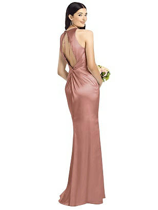 Special Order Sleeveless Open Twist-Back Maxi Dress