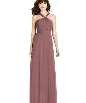 Special Order Twist Halter Chiffon Maxi Dress - James