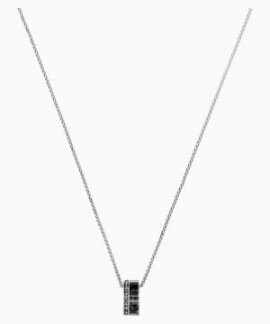 Swarovski Alto Pendant, Gray, Stainless steel