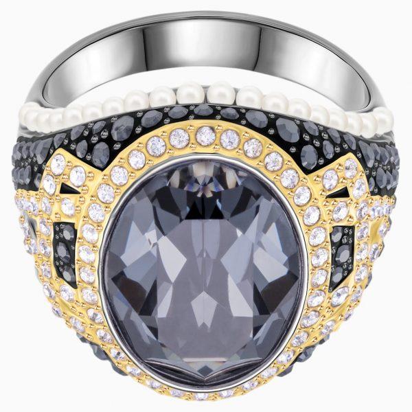 Swarovski Millennium Cocktail Ring, Multi-colored, Mixed metal finish