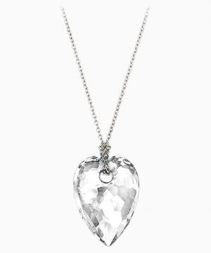 Swarovski Nectar Pendant, Small, White, Rhodium plating