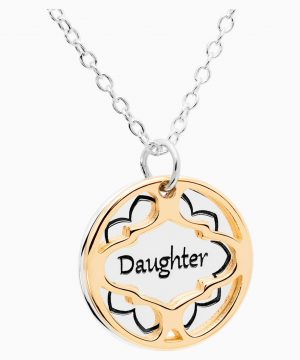 Swarovski Treasure Necklace - Daughter