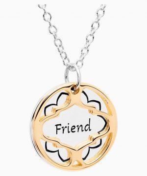 Swarovski Treasure Necklace - Friend