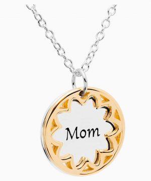Swarovski Treasure Necklace - Mom