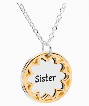Swarovski Treasure Necklace - Sister