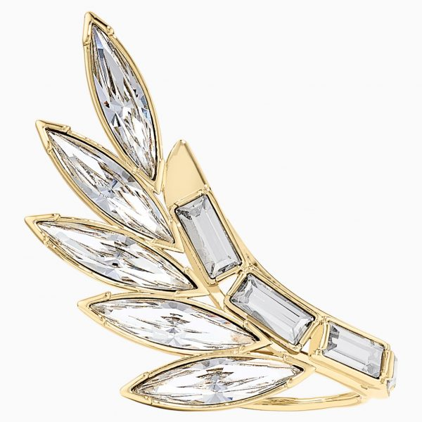 Swarovski Wonder Woman Armour Ring, White, Gold-tone plated