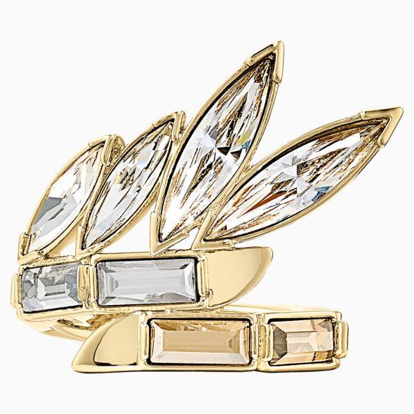 Swarovski Wonder Woman Ring, Gold tone, Gold-tone plated