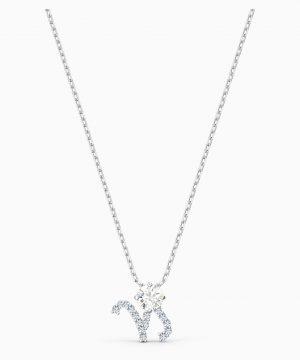 Swarovski Zodiac II Pendant, Capricorn, White, Mixed metal finish
