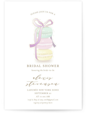 Sweet Gathering Bridal Shower Invitations