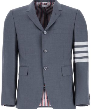 THOM BROWNE 4-BAR BLAZER 2 Grey Wool