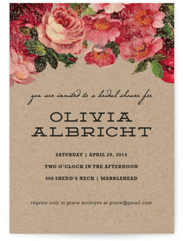 The Porch Bridal Shower Invitations