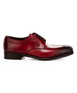 Tullo Lace-Up Leather Dress Shoes