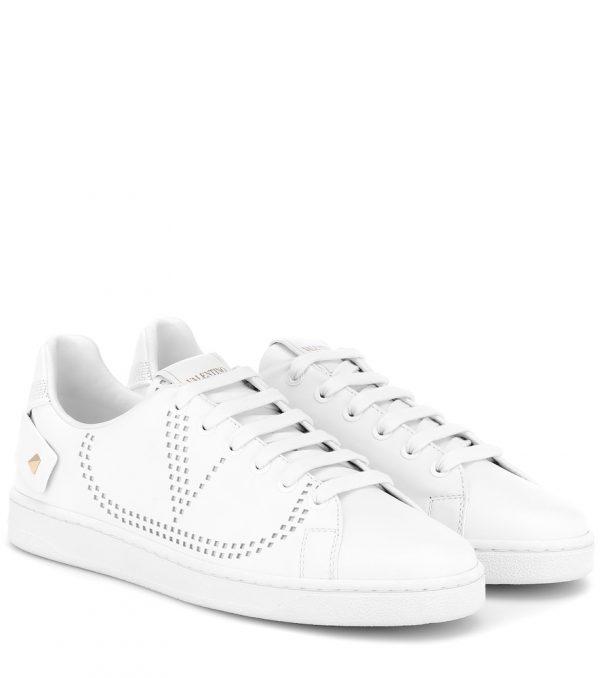 Valentino Garavani BACKNET leather sneakers